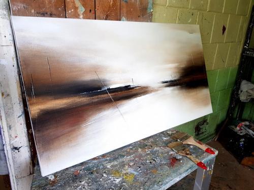 Akrilas - drobė, 110x60 cm.  Kaina | Price 120€