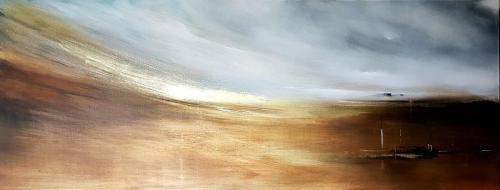 Akrilas - drobė, 160x60 cm.  Kaina   Price 200€