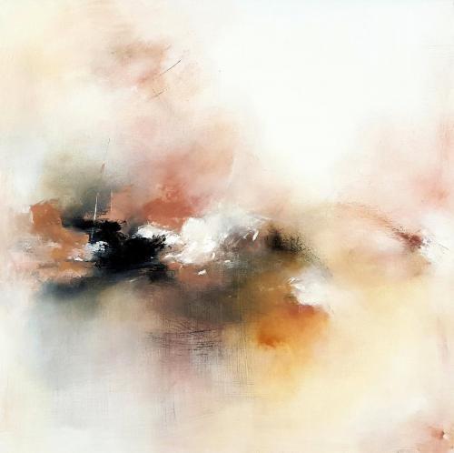 Akrilas - drobė, 100x100 cm.  Kaina | Price 150€