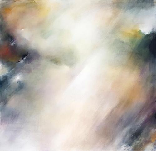 Akrilas - drobė, 100x100 cm.  Kaina   Price 150€